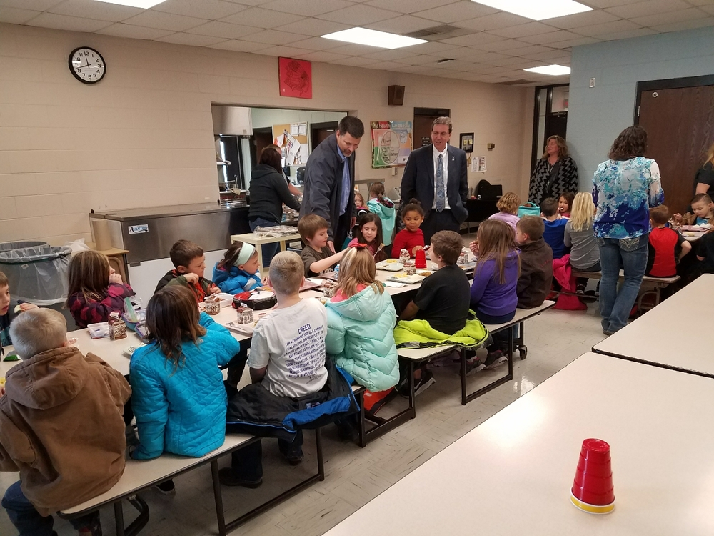 Dr. Watson, Kansas Commissioner of Education, visits USD251